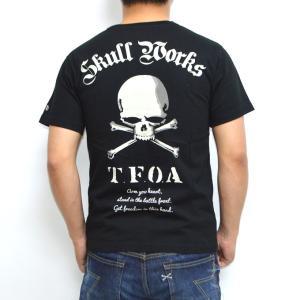クローズ×ワースト SWT-08 半袖Tシャツ ブラック色 村田将五モデル CROWS WORST|americanbass