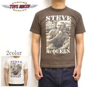 トイズマッコイ TOYS McCOY TMC1923 半袖Tシャツ スティーブマックイーン TEE I'M GOING メンズ トップス|americanbass