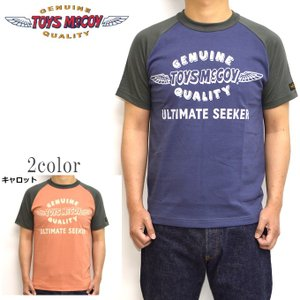 トイズマッコイ TOYS McCOY TMC1937 半袖Tシャツ ラグラン ロゴ メンズ トップス|americanbass