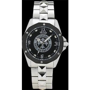 ヴォルテージ VOLTAGE 腕時計 VO-014S-02M(CR) スタッズメタル|americanbass