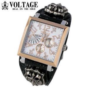 ヴォルテージ VOLTAGE 腕時計 専用化粧箱付 VO-117RG-01B REQUIEM II|americanbass