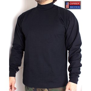 長袖 Tシャツ キャンバー CAMBER 306 Mock Turtle L/S T-Shirt 8...