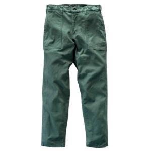 GUNG HO/ガンホーのテーパードシルエットの4ポケットのパンツです。Made in USA。サイ...