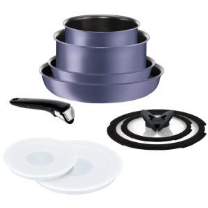 T-fal 鍋 フライパン 9点 セット 着脱式取っ手 蓋 付 インジニオ・ネオ セレナーデ・エクセレンス セット9 IH対応 L66491 2016年モデル|americanoutlets