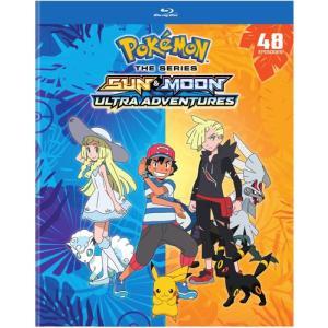 POKEMON SUN & MOON ULTRA ADVENTURES (6PC) (アニメ輸入盤ブルーレイ) (M)|americanpie