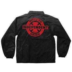 INDEPENDENT / インデペンデント AXIOM W/B ナイロン コーチ ジャケット BLACK ブラック|americanrushstore