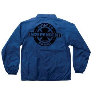INDEPENDENT / インデペンデント AXIOM W/B ナイロン コーチ ジャケット ROYAL ロイヤル|americanrushstore