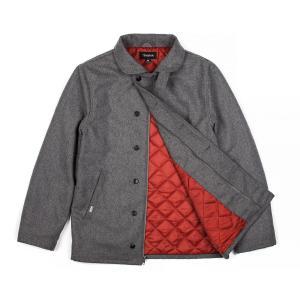 BRIXTON / ブリクストン MAST N-1 DECK JKT デッキジャケット HEATHER GREY ヘザーグレイ 送料無料|americanrushstore