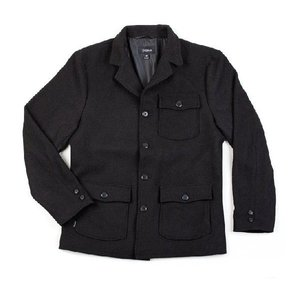 BRIXTON / ブリクストン BILSTON ウールジャケット BLACK 送料無料|americanrushstore