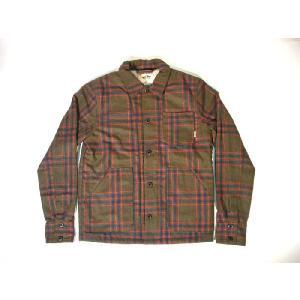 VANS / バンズ CHEVIOT ウールジャケット IVY GREEN PLAID|americanrushstore