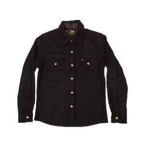 Lee / リー C.P.O JKT ウールジャケット シャツジャケット BLACK ブラック 送料無料|americanrushstore