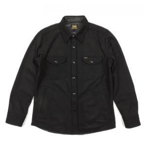 Lee / リー CPO WOOL JACKET ウール ジャケット BLACK ブラック LT0560 送料無料|americanrushstore