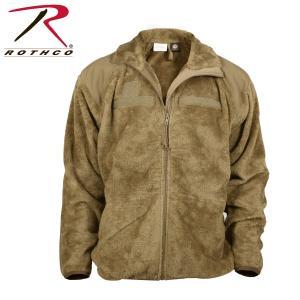 ロスコ フリース ジャケット メンズ レディース ジェネレーション III レベル 3 フリース コヨーテ ブラウン ROTHCO GEN III ECWCS FLEECE JACKET COYOTE BROWN|americanrushstore