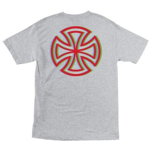 INDEPENDENT / インデペンデント RGB B/C 半袖 Tシャツ ATHLETIC HEATHER|americanrushstore