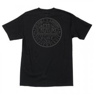 CREATURE / クリーチャー BLACK MAGIC ポケットTシャツ BLACK americanrushstore