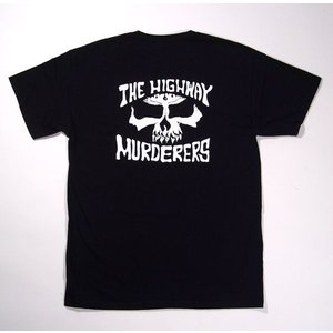 DRIVEN / ドリヴン THE HIGHWAY MURDERERS 半袖Tシャツ ブラック×ホワイト|americanrushstore