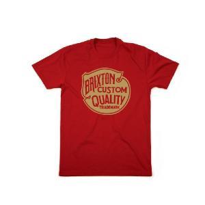 BRIXTON / ブリクストン ROY 半袖 Tシャツ STANDARD FIT RED レッド|americanrushstore