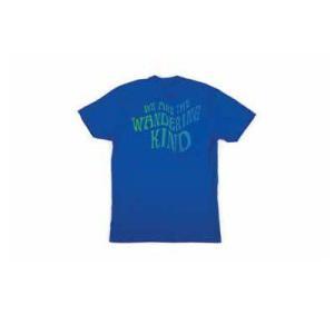 BRIXTON / ブリクストン WANDERING 半袖Tシャツ PREMIUM FIT ROYAL ロイヤル|americanrushstore