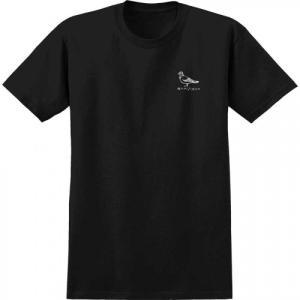 アンチヒーロー ピジョン 半袖 Tシャツ スケート ブラック ANTIERO PIGEON S/S T-SHIRT BLACK|americanrushstore