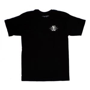 アンチヒーロー 半袖 Tシャツ ブラック ホワイト メンズ アンタイヒーロー スケート ANTI HERO STAY AWAY S/S T-SHIRT BLACK WHITE|americanrushstore