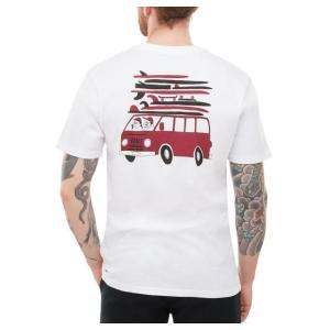 バンズ メンズ レディース 半袖 Tシャツ ホワイト 白 ユウスケ ハナイ VANS YUSUKE VAN S/S T-SHIRT WHITE VN0A3W41WHT|americanrushstore