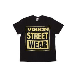 VISION STREET WEAR / ヴィジョン MAG NEON Tシャツ BLACK ブラック|americanrushstore