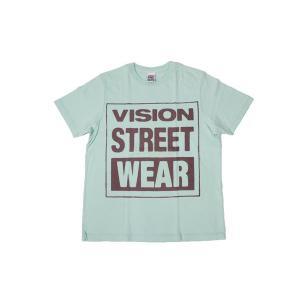 VISION STREET WEAR / ヴィジョン MAG NEON Tシャツ MINT ミント|americanrushstore