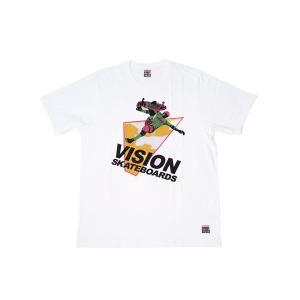 VISION STREET WEAR / ヴィジョン SKATEBOARDS Tシャツ WHITE ホワイト|americanrushstore