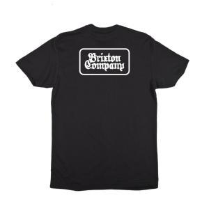 ブリクストン 半袖 Tシャツ ブラック スタンダードフィット BRIXTON FEUDAL S/S STANDARD TEE BLACK|americanrushstore