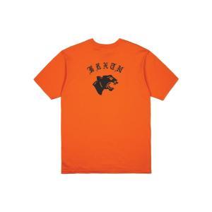 ブリクストン 半袖 Tシャツ オレンジ スタンダードフィット メンズ BRIXTON GATO S/S STANDARD TEE ORANGE|americanrushstore