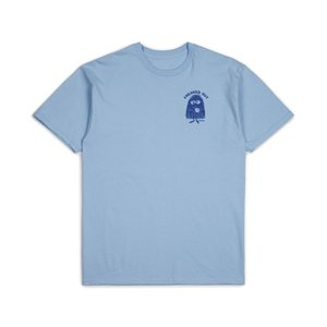 ブリクストン 半袖 Tシャツ ライトブルー BRIXTON STREET FIENDS FARTCO FREAKED OUT S/S STANDARD TEE LIGHT BLUE|americanrushstore