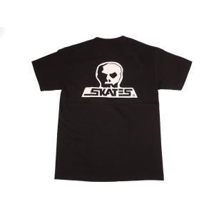 SKULL SKATES / スカルスケーツ LOGO 半袖 Tシャツ BLACK ブラック|americanrushstore
