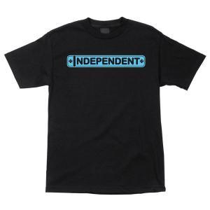 INDEPENDENT / インデペンデント AXLE BAR 半袖 Tシャツ BLACK|americanrushstore