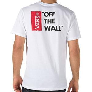 バンズ オフ ザ ウォール ロゴ 半袖 Tシャツ ホワイト 白 メンズ VANS OFF THE WALL III S/S T-SHIRT WHITE|americanrushstore