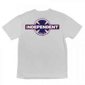 INDEPENDENT / インデペンデント MFG USA 半袖 Tシャツ WHITE americanrushstore