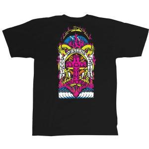 ドッグタウン スコット・オスター 半袖 Tシャツ ブラック オールドスケート DOGTOWN SCOTT OSTER S/S T-SHIRT BLACK OLD SKATE|americanrushstore
