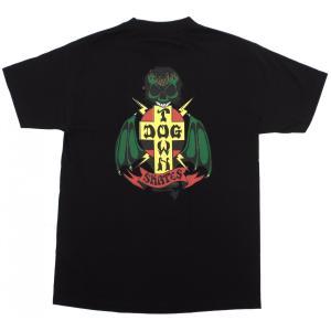 ドッグタウン ボーンアゲイン Tシャツ ブラック メンズ レディース 黒 DOGTOWN BORN AGAIN S/S T-SHIRT BLACK|americanrushstore