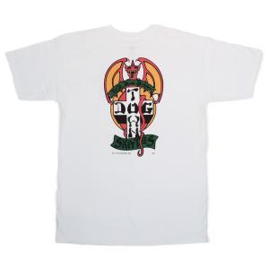 DOGTOWN / ドッグタウン RED DOG 半袖 Tシャツ スケート WHITE ホワイト|americanrushstore