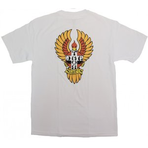 ドッグタウン ビッグフット 半袖 Tシャツ ホワイト メンズ レディース 白 DOGTOWN BIG FOOT S/S T-SHIRT WHITE|americanrushstore