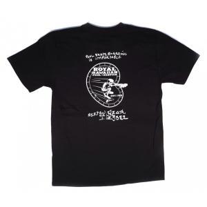 R.H.P.S / ロイヤル ハワイアン プール サービス GHOST RIDER LOGO JASON JESSEE S/S T-SHIRT 半袖 Tシャツ BLACK ブラック|americanrushstore