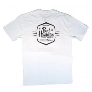 R.H.P.S / ロイヤル ハワイアン プール サービス DIAMOND HEAD LOGO S/S T-SHIRT 半袖 Tシャツ WHITE ホワイト|americanrushstore