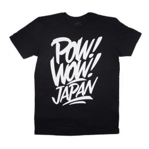 RVCA / ルーカ POW! WOW! JAPAN T-SHIRT 半袖 Tシャツ BLACK ブラック|americanrushstore