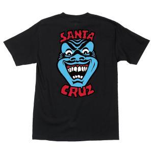 サンタクルーズ  スピードウィールズ フェイス 半袖 Tシャツ ブラック 黒 メンズ SANTA CRUZ SPEED WHEELS FACE REGULAR S/S T BLACK americanrushstore
