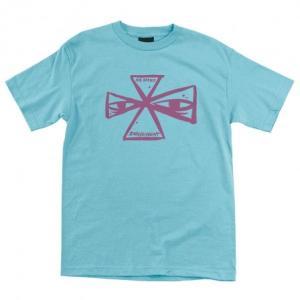インディペンデント バービー クロス 半袖 レギュラー Tシャツ パシフィック ブルー メンズ トラック  INDEPENDENT BARBEE CROSS REGULAR S/S TEE PACIFIC BLUE|americanrushstore