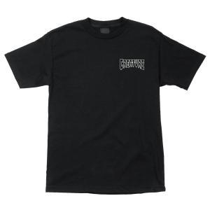 クリーチャー Tシャツ 半袖 スケート ブラック CREATURE BURNOUT BLACK americanrushstore
