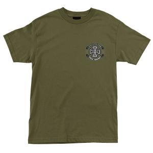 インディペンデント トリプル A 半袖 Tシャツ オリーブ メンズ インディ トラック  INDEPENDENT TRIPLE A REGULAR S/S TEE MILITARY GREEN americanrushstore