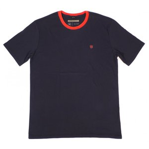 ブリクストン 半袖 Tシャツ ネイビー/レッド プレミアム フィット メンズ BRIXTON UNION COLLECTION B-SHIELD S/S PREMIUM TEE NAVY/RED americanrushstore