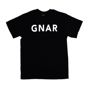ナーハンターズ 半袖 Tシャツ ブラック 黒 サーフ スケート エリッサ スティーマー GNARHUNTERS GNRMY S/S T-SHIRTS BLACK|americanrushstore