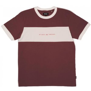 アフェンズ メンズ 半袖 Tシャツ バーガンディー サーフ AFENDS NYLON S/S T-SHIRT OXBLOOD JM193101|americanrushstore