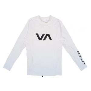 RVCA / ルーカ VA RASHGUARD L/S ラッシュガード 長袖 Tシャツ WHITE ホワイト|americanrushstore